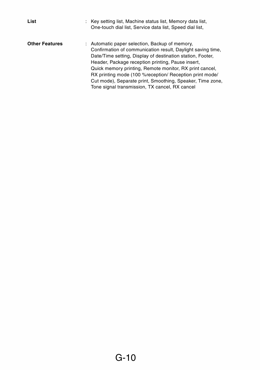 Konica-Minolta MINOLTA Di1610 Di1610f Di1610p Di1610fp GENERAL Service  Manual-5